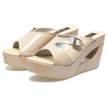 SANDAL HIGH HEELS / WEDGES KASUAL WANITA - BSP 735