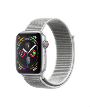 Apple Watch Series 4 GPS 44mm Silver Seashell Sport Loop