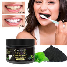 Farfi Natural Bamboo Charcoal Teeth Tooth Whitening Powder Oral Hygiene Stain Remover as the pictures