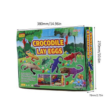 [OUTAD] 24PCS Crocodile Lay Eggs Bathing Toy Fun Soaked Amaze Balls Water Beads Multicolor