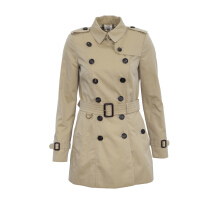 Pre-Owned Burberry The Chelsea Short Heritage Trench Coat