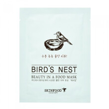 SKINFOOD Beauty In A Food Mask Sheet #Bird's Nest