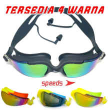 Kacamata Renang Swim Glasses Speeds LX 8810 Bahan Kaca Riben Elastis