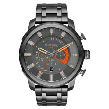 Diesel DZ4348 Stronghold Men Silver Dial Grey Stainless Steel [DZ4348]