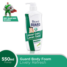 BIORE Body Foam Lively Refresh 550 ml