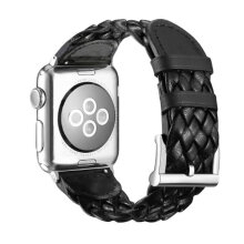 Strap Woven Leather Strap LOLLYPOP Apple Watch 38mm Series 123 Hitam