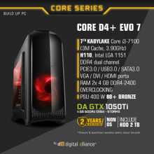 DIGITAL ALLIANCE Core D4+ EVO 7 without HDD - Black