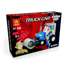 Wange Bricks 040804 Truck Car Multicolor