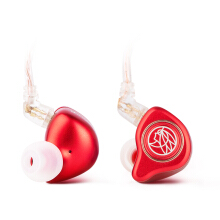 TFZ King Pro HiFi In Ear Monitor Earphone with Detachable Cable - Red