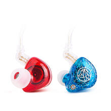 TFZ Series 2 HiFi In Ear Monitor Earphone with Detachable Cable - Mix Red Blue