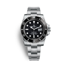 Rolex Submariner Date Watch 40 mm Oystersteel [116610LN] Black