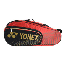 YONEX Sports Bag Sunr 4726Tg Bt6-Sr - Black/Red [All Size]