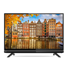COOCAA LED TV 24 inch (Model : 24D1A) - IPS Panel (Free Bracket) Black