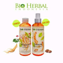 Bio Herbal Ginseng Paket Shampo + Hair Tonic