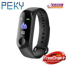 PEKY M3 Color Screen Kids Women Wristband Blood PressureHeart Rate Monitor Smart Watch Pedometer For Android IOS