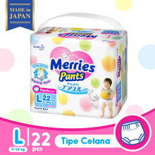 MERRIES Premium Popok Pants L - 22