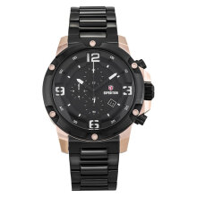 Expedition E 6698 MC BBRBA Man Black Dial Black Stainless Steel [EXF-6698-MCBBRBA]