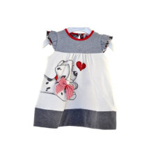 Little Dog Printed Baby Short Sleeved Comfortable Skirt Short Cotton Clothing 110cm