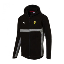 PUMA SF Hooded Sweat Jacket -  Black