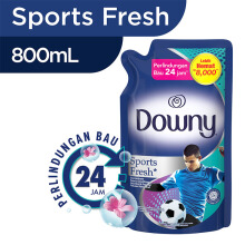DOWNY Sports Fresh Refill 800ml
