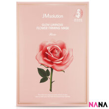 JM Solution Glow Luminous Flower Firming Mask (10 Sheets)