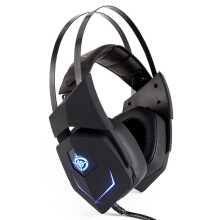 Vinmori 7.1-channel head-mounted esports gaming headset Internet cafe to eat chicken game dedicated headphones Black
