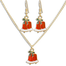 [COZIME] Women Jewelry Set Necklaces Earrings Christmas Tree Christmas Hat Santa Claus S0531