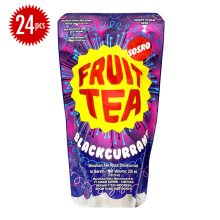 FRUIT TEA Pouch Blackcurrant Carton 230ml x 24pcs