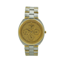 ALBA Jam Tangan Pria - Silver Gold - Stainless Steel - ASA12A