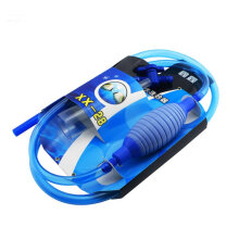 [kingstore]AUTOOL 2.55m Water Changer Aquarium Water Tank Fish Tank Big Hand Suction Blue Blue