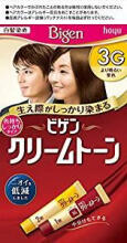 BIGEN HOYU attached fill brush hair root hair dye 1 dose of 40 g + 2 doses of 40 g 3 g (よ り Ming る い chestnut)