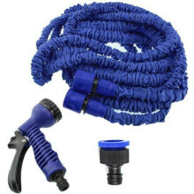 Magic X Hose 30 Meter 100Feet - Selang Flexible Taman dan Rumah xhose Blue