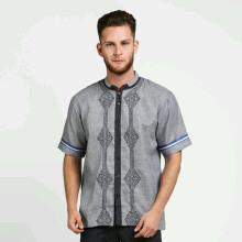 IZZUE Koko Cotton Short Sleeve Grey