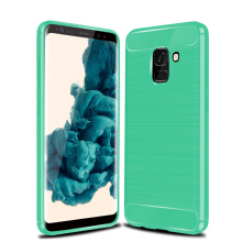 RockWolf Samsung Galaxy A8 2018 case brushed silicone anti-drop soft cover