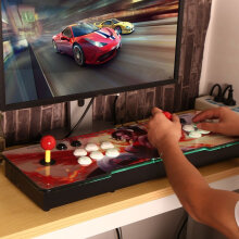 [OUTAD] Multi-game 846 in 1 Family Box Dual Joystick HD Home Game Machine Beauty Pattern 1#US