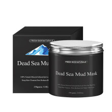 TOWER PRO Dead Sea Mud Mask Facial Cleanser Anti-Acne Moisturizing Smoothing Cleaning Black