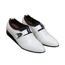 SiYing Fashion men's Korean version of pointed dress shoes