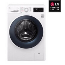 LG Mesin Cuci Front Loading 10.5KG - FC1450S2W [LG PREMIUM SERVICE]