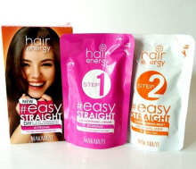 Makarizo Hair Energy Easy Straight Kit [Strong / Pink]  - 120ml