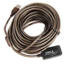 Billionton Kabel USB 2.0 Extension Booster 10M - Cokelat