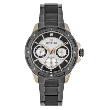 Expedition E 6760 BF BGCBU Ladies Mother of Pearl Dial Grey Stainless Steel Strap [EXF-6760-BFBGCBU]