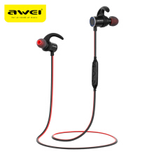 Awei AK8 Waterproof Magic Magnet Attraction Bluetooth 4.1 Sports Headphones with Microphone On-ear Control-Black