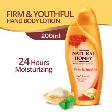 NATURAL HONEY Body Lotion Firm & Youthful 200 ml