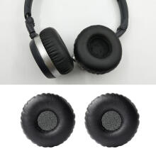 Farfi 2Pcs Replacement Headphone Ear Cushion Pads for AKG K420/430/450 Q460 Y30 K412P Black