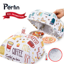 Perfin Dining table folding cover mosquito net anti-style kitchenware (size difference)