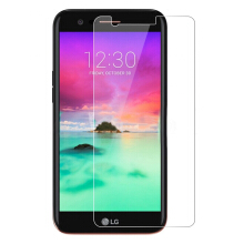 VOUNI tempered glass LG K10 LTE 2017 bubble-free transparent screen protector Transparan