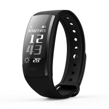 SANDA QS90 Heart Rate Monitor Waterproof Pedometer Sport Smart Watch For Xiaomi Samsung Huawei iPhone