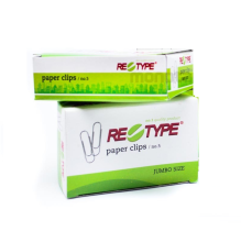 RE-TYPE Paper Clip No. 5 Jumbo - 1 Box