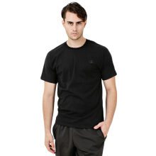 CHAMPION Mens Classic Jersey Tee - Black