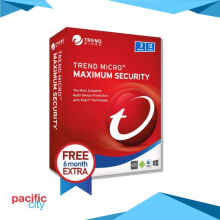 Trend Micro Maximum Security (3 Devices) 12 Month Id